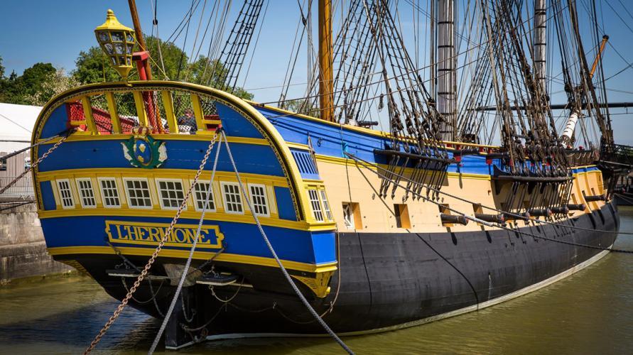 Les 20 ans de la construction de l'Hermione dans Evènement Charente Maritime hermione_3