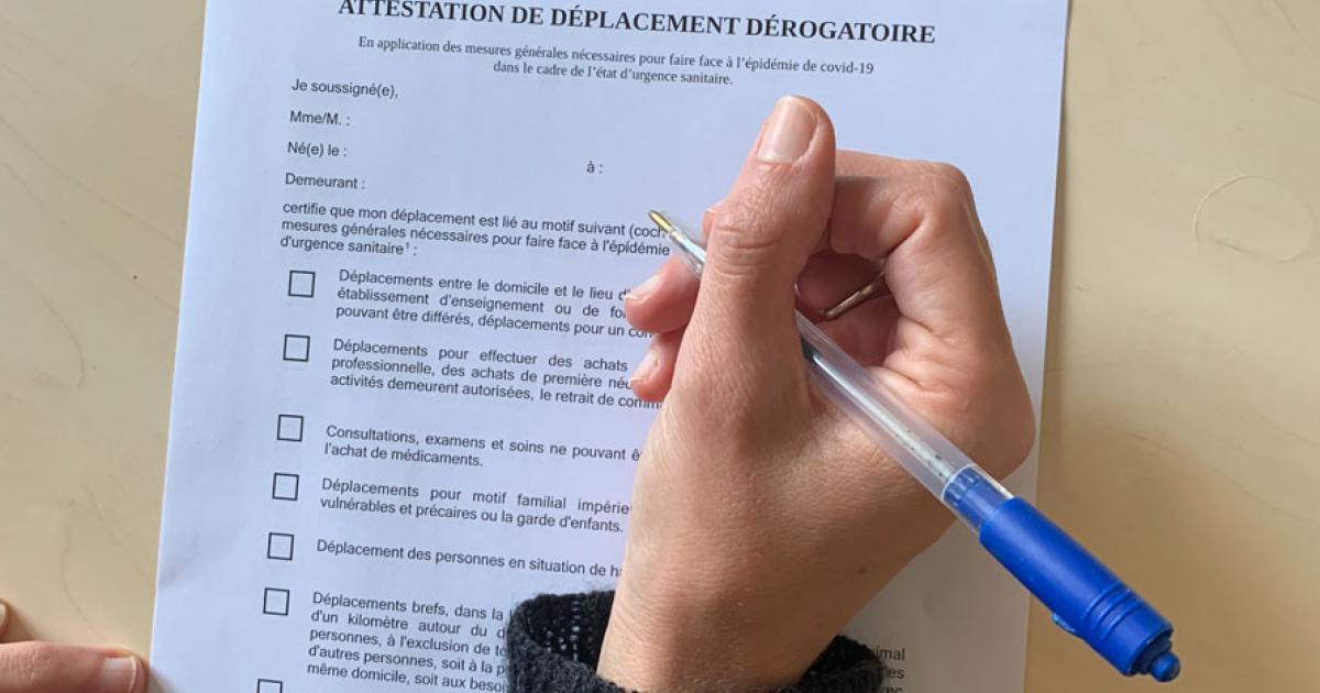Covid 19 Les Attestations De Deplacement La Charente Maritime 17